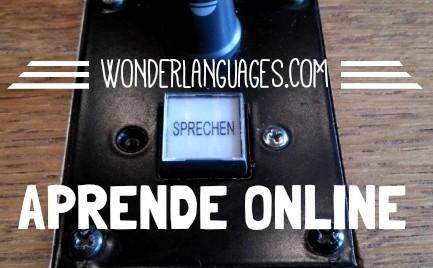 Aprender online con WOnderLanguages